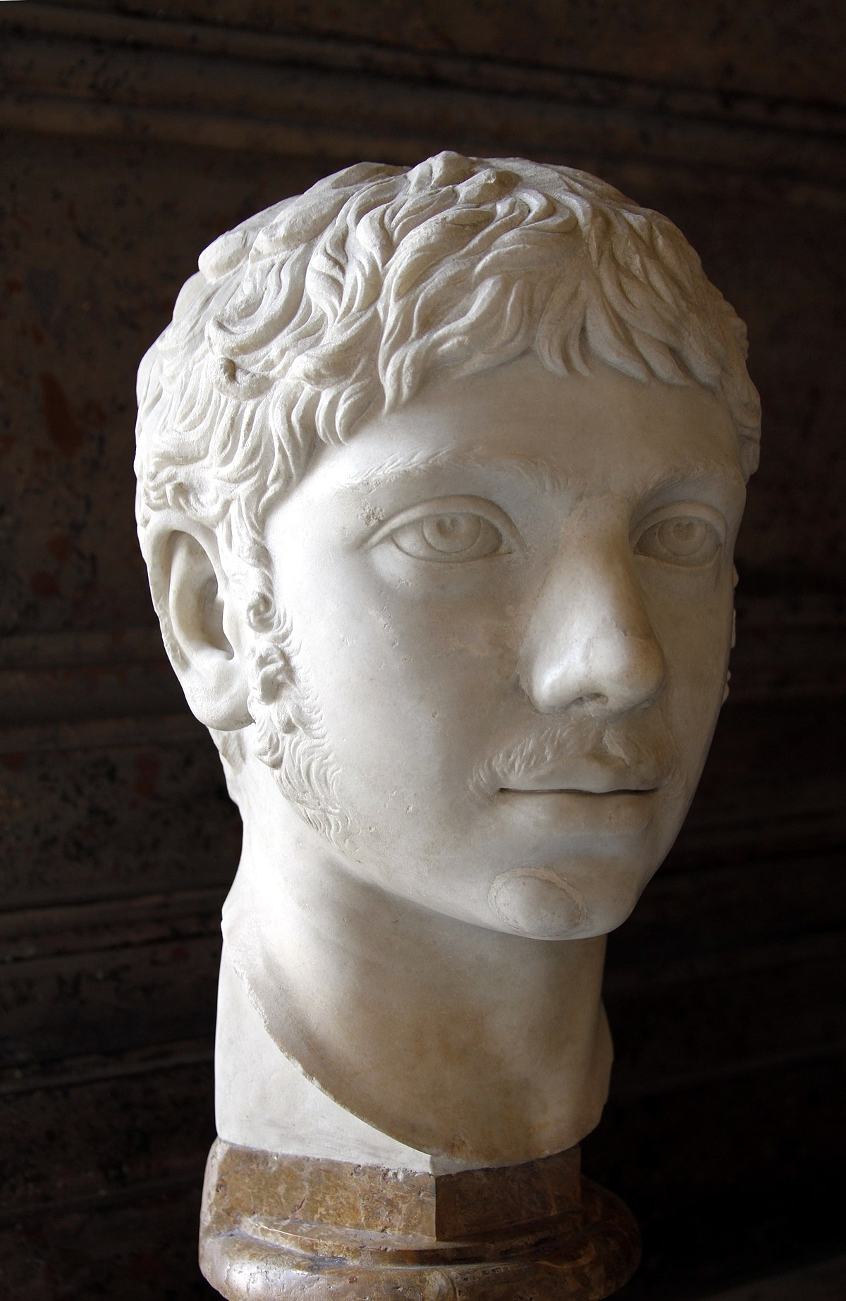 Busto de Heliogábalo (Museos Capitolinos, Roma)
