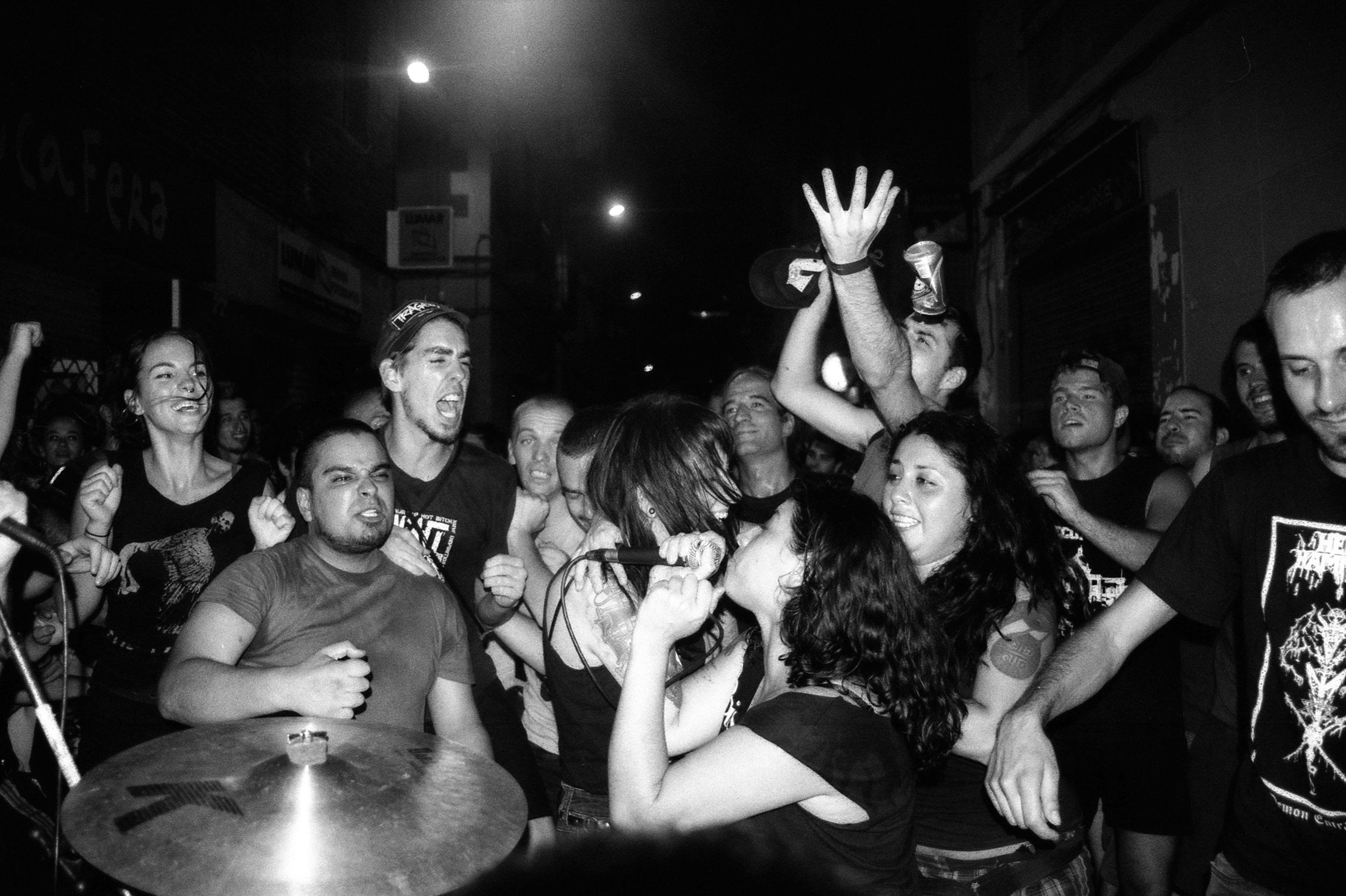 Ruidosa Inmundicia en Kaos a Gracia (2012)