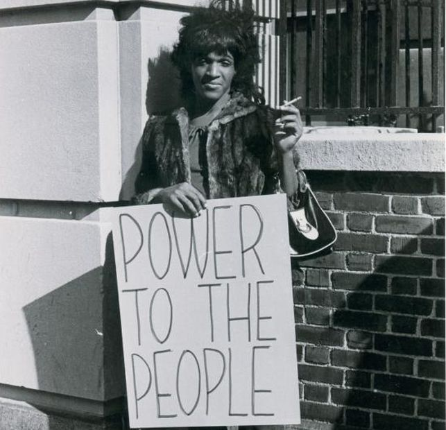 Icónica imagen de la gran Marsha Johnson