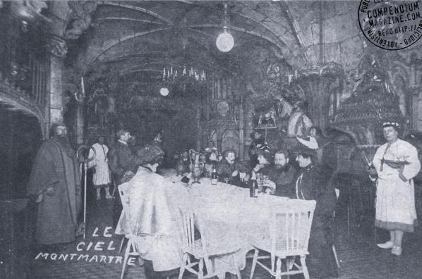 Interior del Cabaret del Cielo