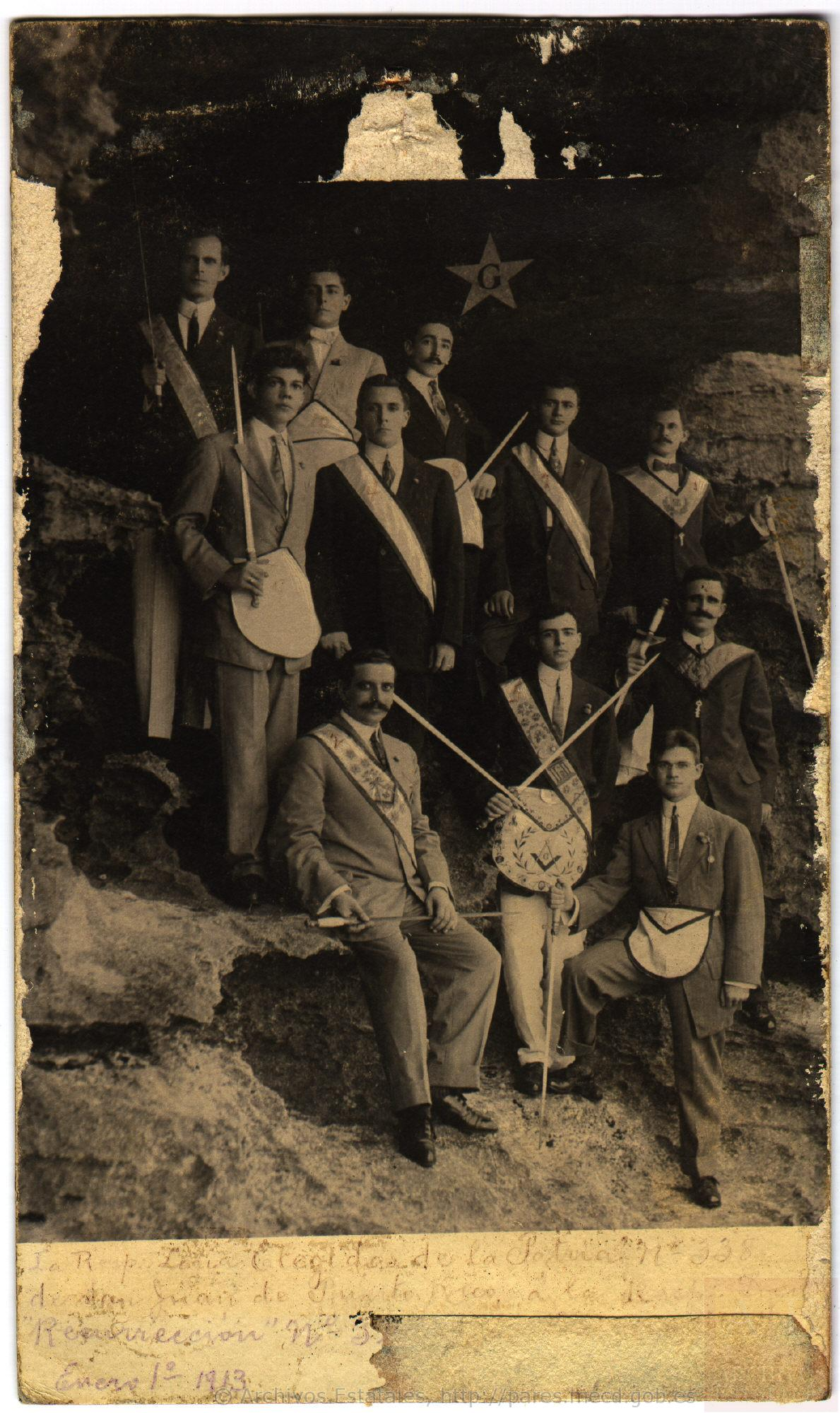 Logia Elegidos de la Patria (1913)