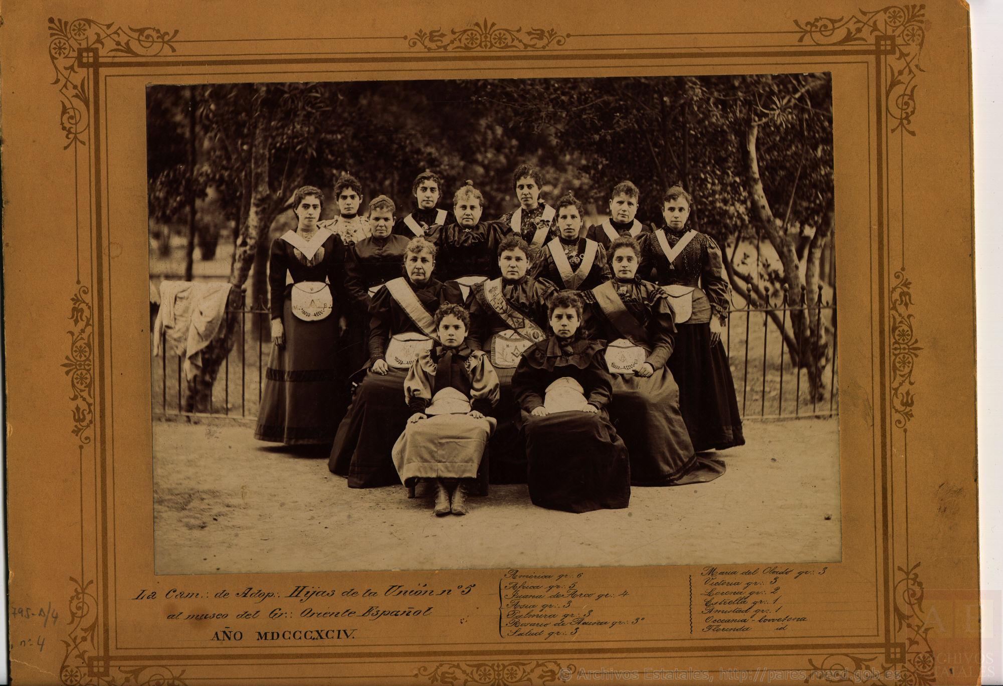 Logia Hijas de la Unión nº5