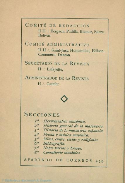 Bergson en el comité de redacción de  Latomia  (1932)