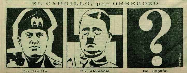 Viñetas incluidas en  El Fascio  (1933)