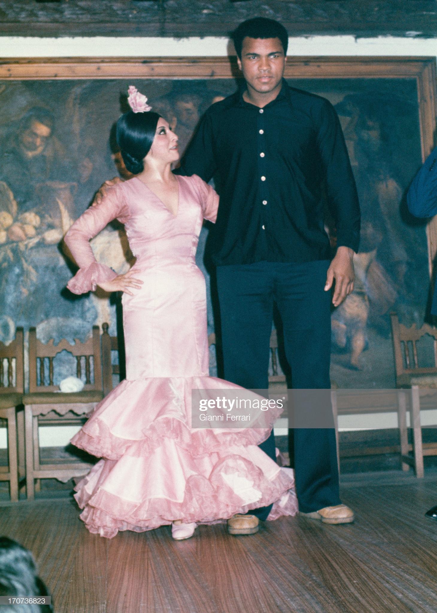 Ali junto a Lucero Tena en El Corral de la Morería. Fotografía: Gianni Ferrari