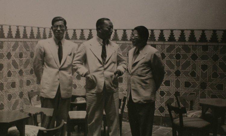 orientales, exotismo y noche eterna en la inauguración del café Ketama de Madrid (1949). Archivo Regional de Madrid