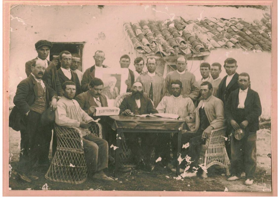 Socialistas de Albacete (1924). colección particular