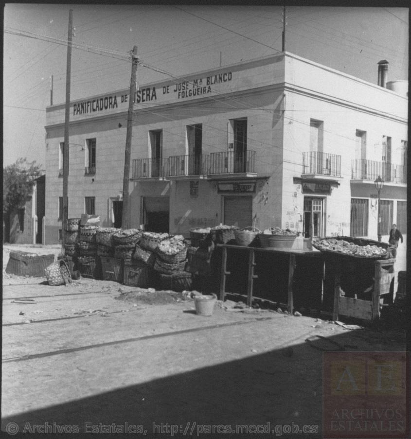 barricada en Usera en julio de 1936. Fotografía: Kati Horna.