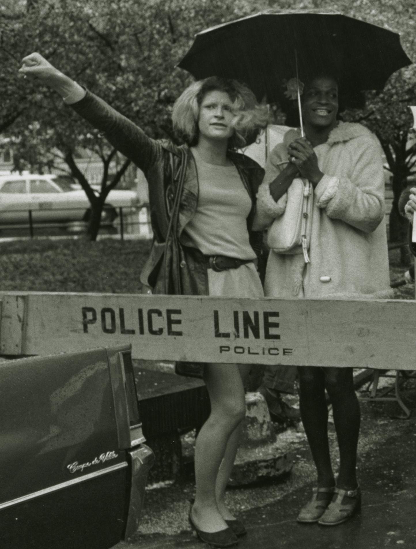 Marsha P. Johnson y Sylvia Rivera (S.T.A.R.)