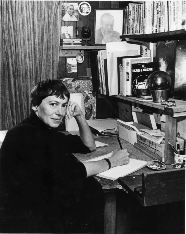 Ursula en una imagen de finales de los años setenta