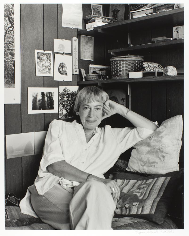 Ursula fotografiada en 1988 por Marian Wood Kolisch