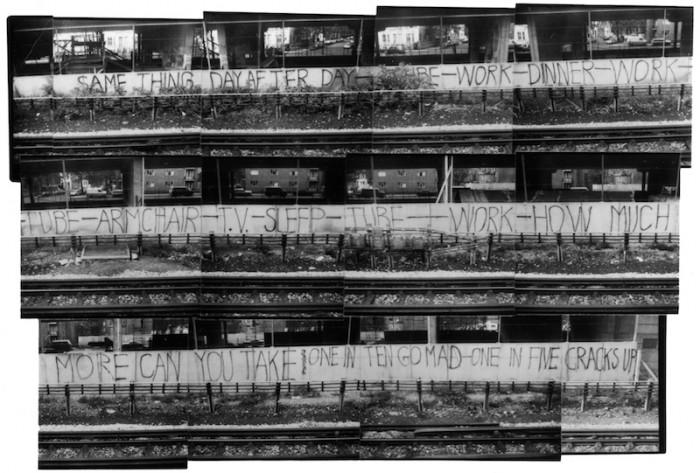 El legendario y gigantesco grafiti de King Mob. Fotografía: Roger Perry