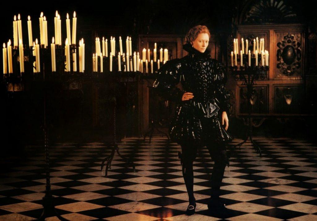 Tilda Swinton como Orlando en la adaptación cinematográfica de la obra de Virginia Woolf realizada por Sally Potter en 1994