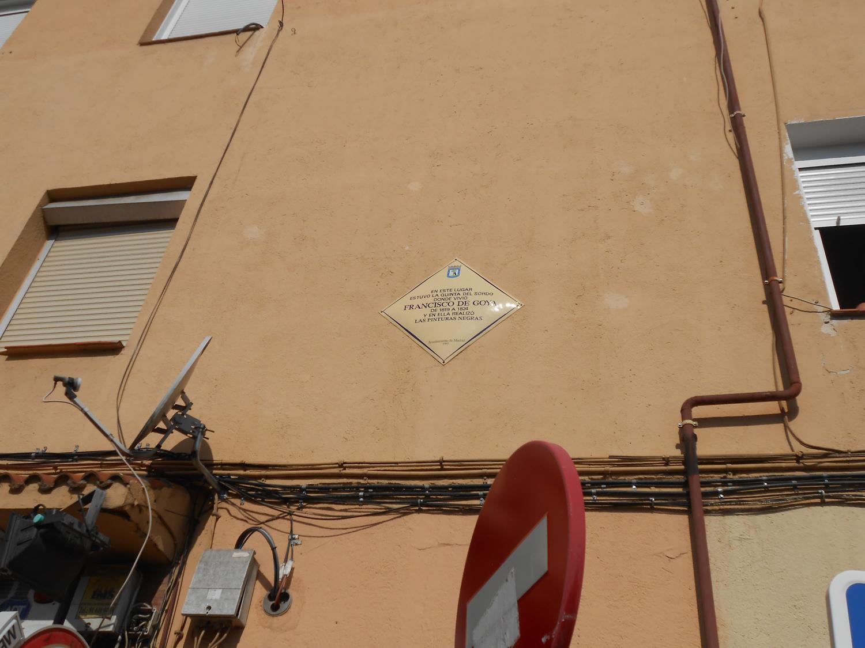 Placa colocada por el ayuntamiento. Fotografía: El autor
