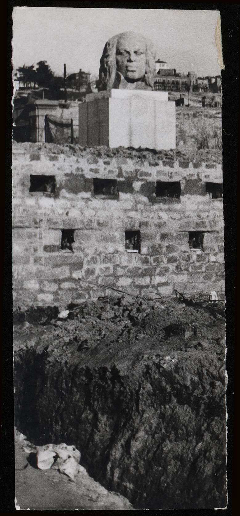 Goya parapetado. San Antonio de la Florida (1936). Fotografía: Mayo