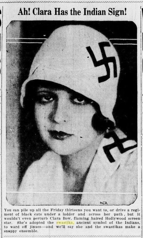 Original de la noticia y fotografía de Bow ( The New Yorker , 6 de junio de 1928)