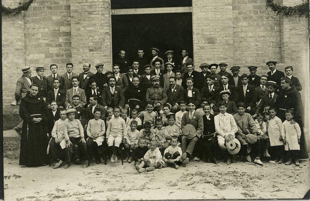 Retrato del Casal de la Juventud (Barcelona, 1914). Fotografía: Palmarola / Arxiu Municipal de Barcelona
