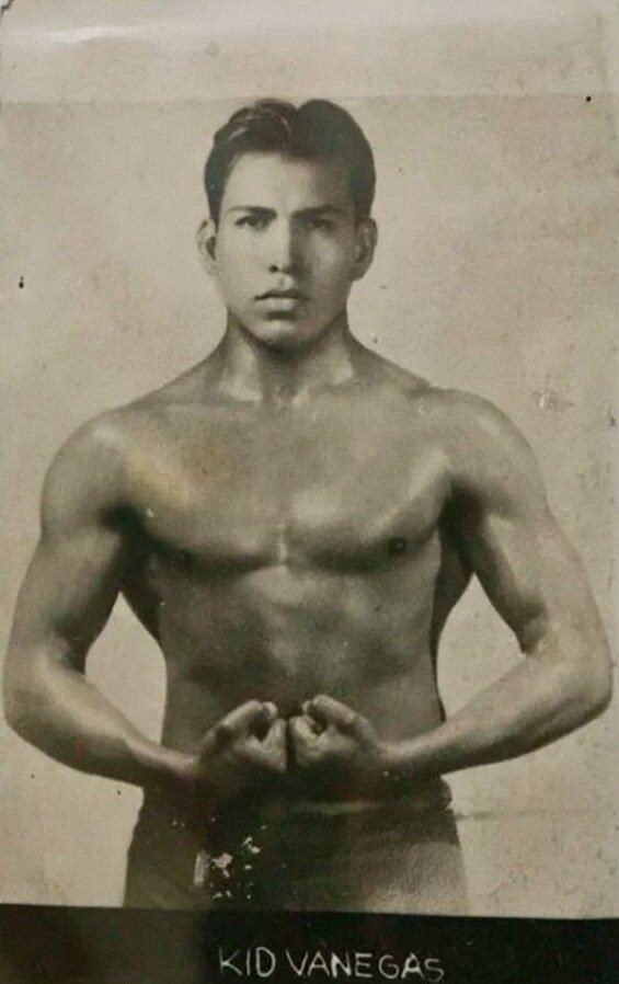 Foto promocional de Arsacio «Kid» Venegas