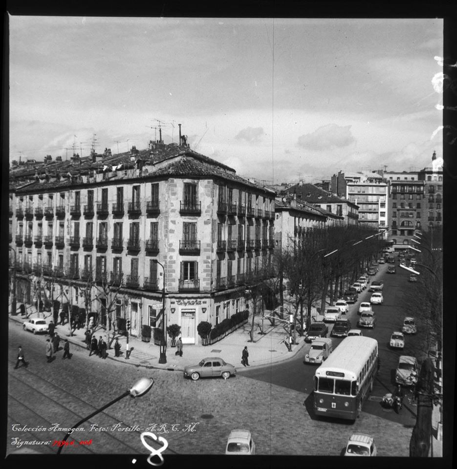 El barrio de Pozas, justo en el centro de la imagen. Fotografía: Fondo Portillo