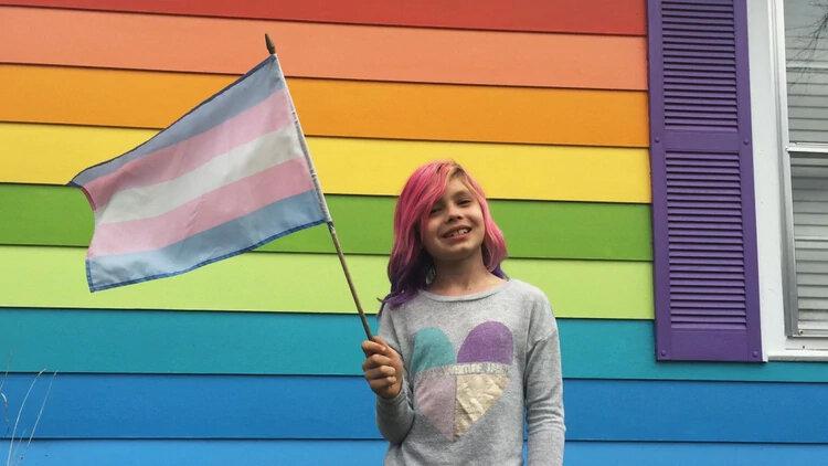 La niña Avery Jackson es considerada una referente transgénero pese a su corta edad. Ha sido portada de  National Geographic
