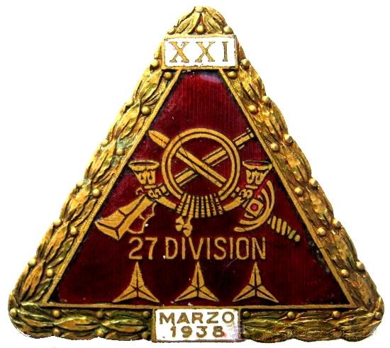 Emblema de la 27 División