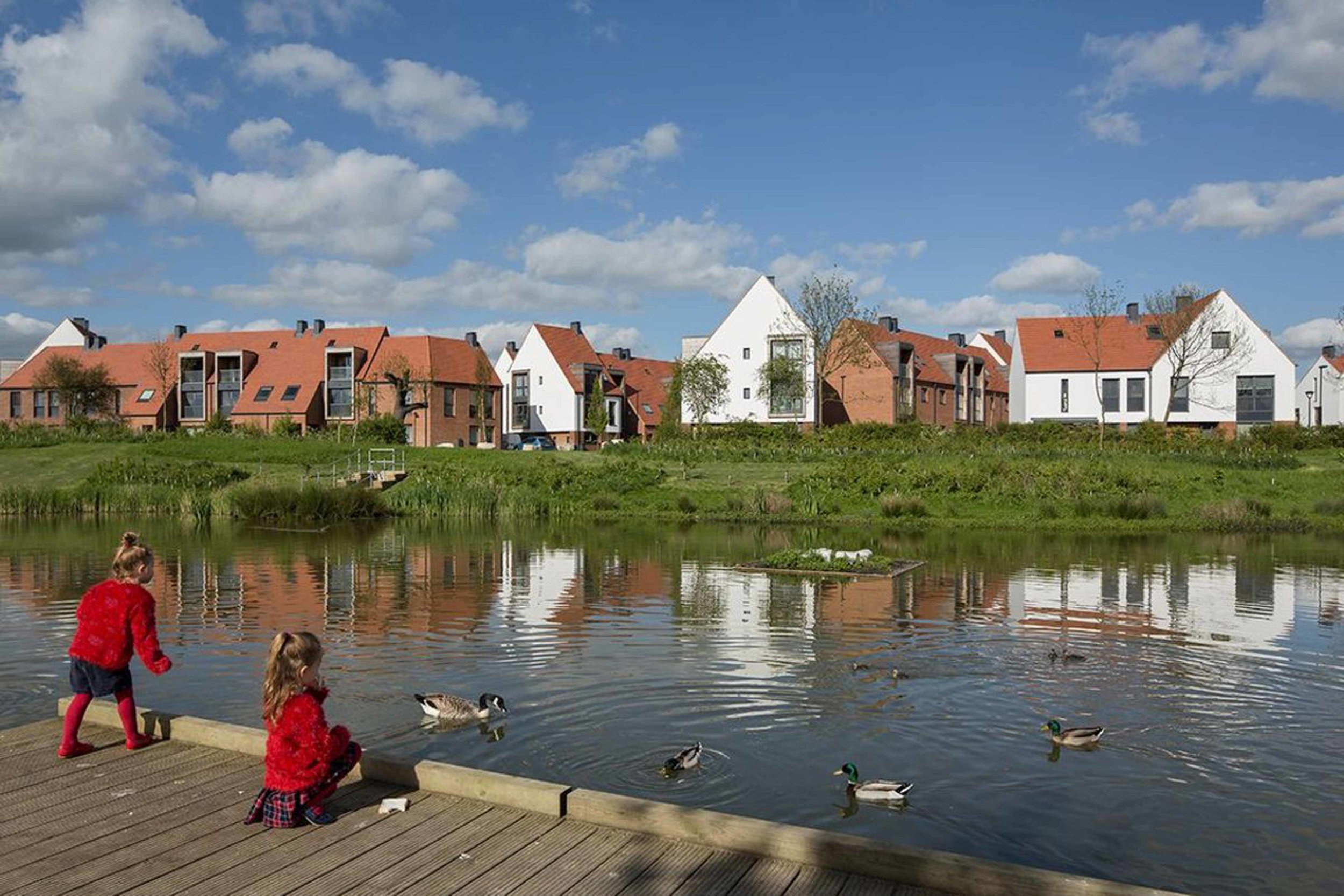 derwenthorpe phase one housing, york by studio partington. © tim crocker