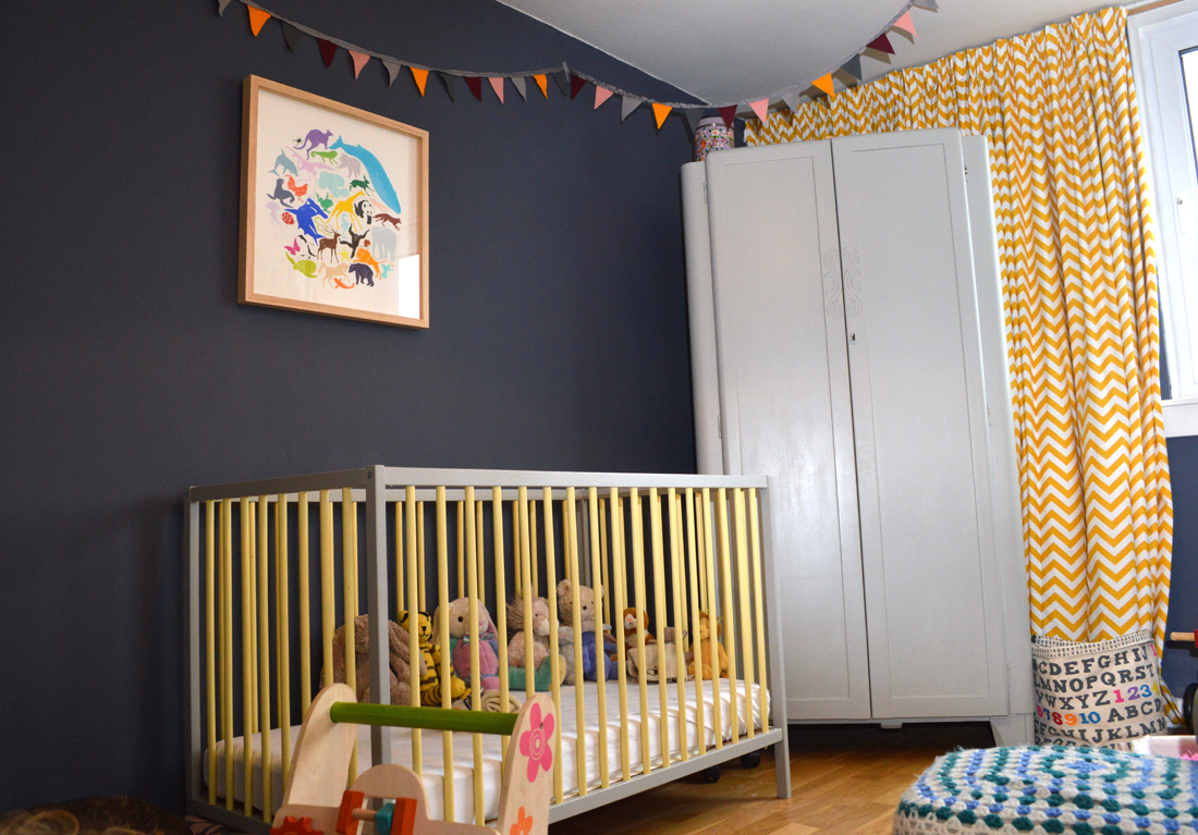 Graham and Kristina Farrow & Balled an Ikea cot and charity-shop wardrobe