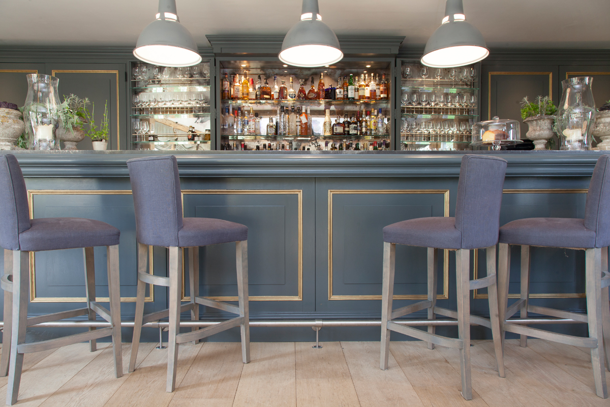 The bar we leaned on and the stools we fell off/Photo: Susie Lowe