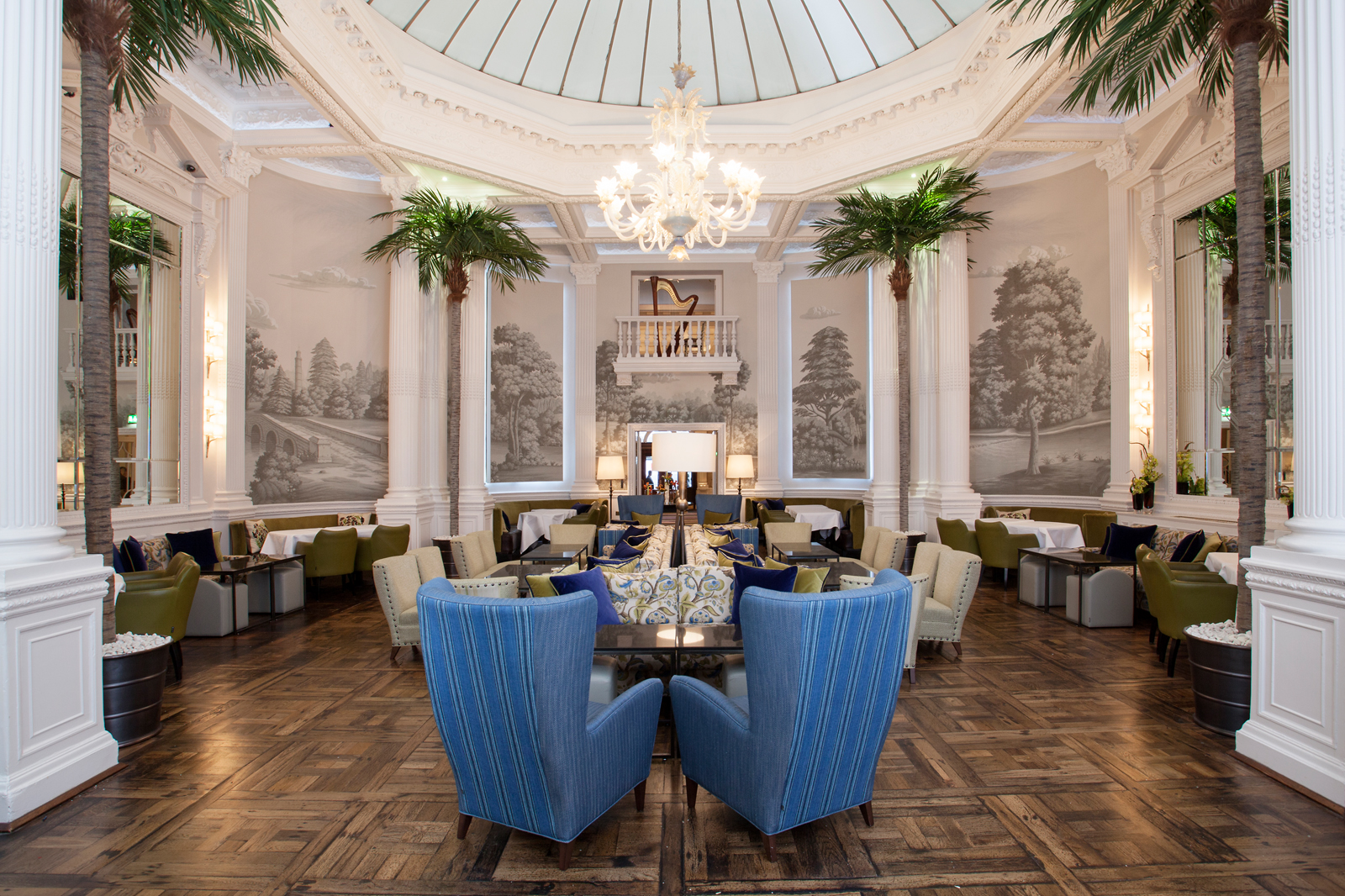 Palm Court at The Balmoral - afternoon tea heaven