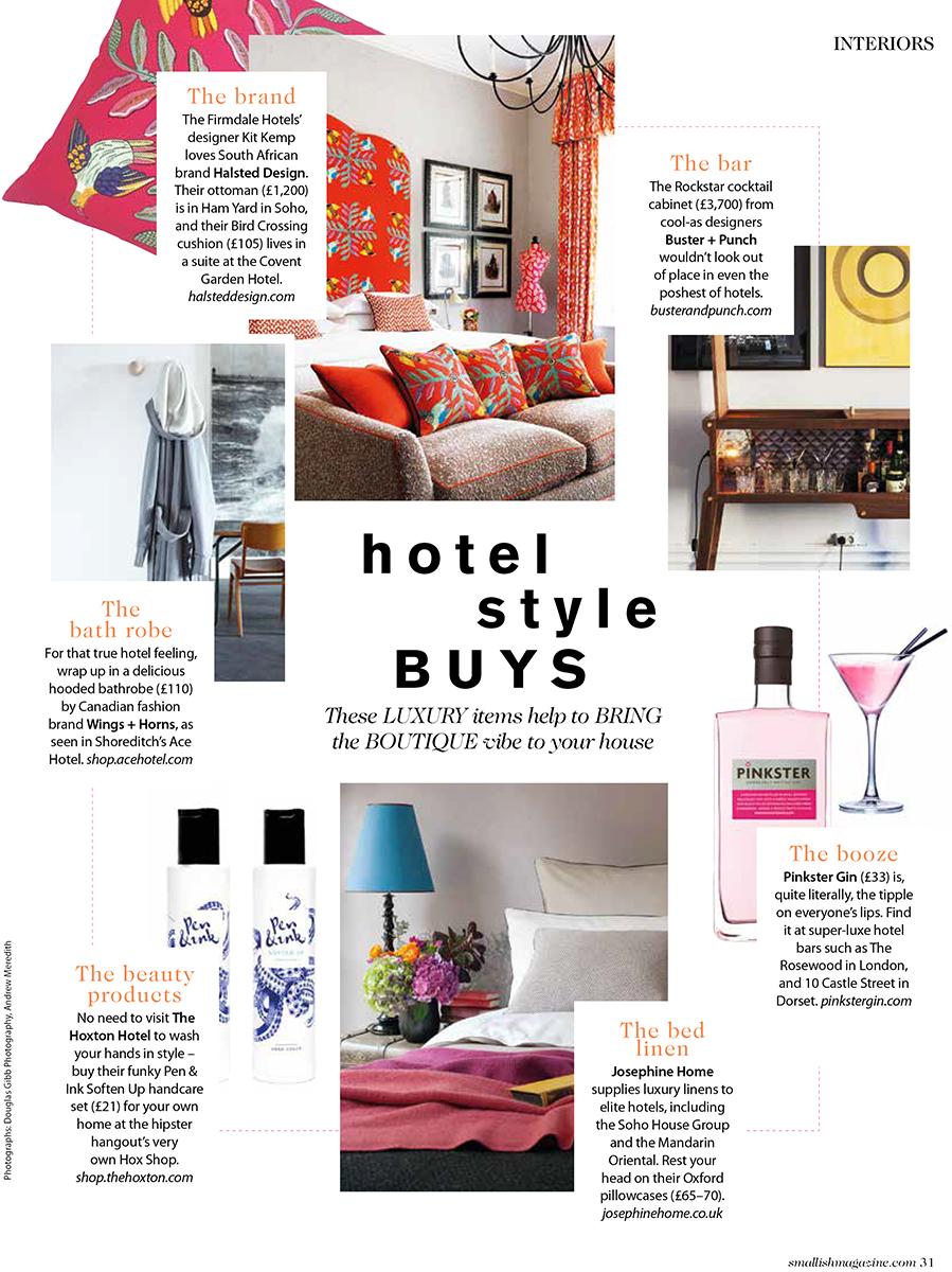 Smallish magazine - The Pink House