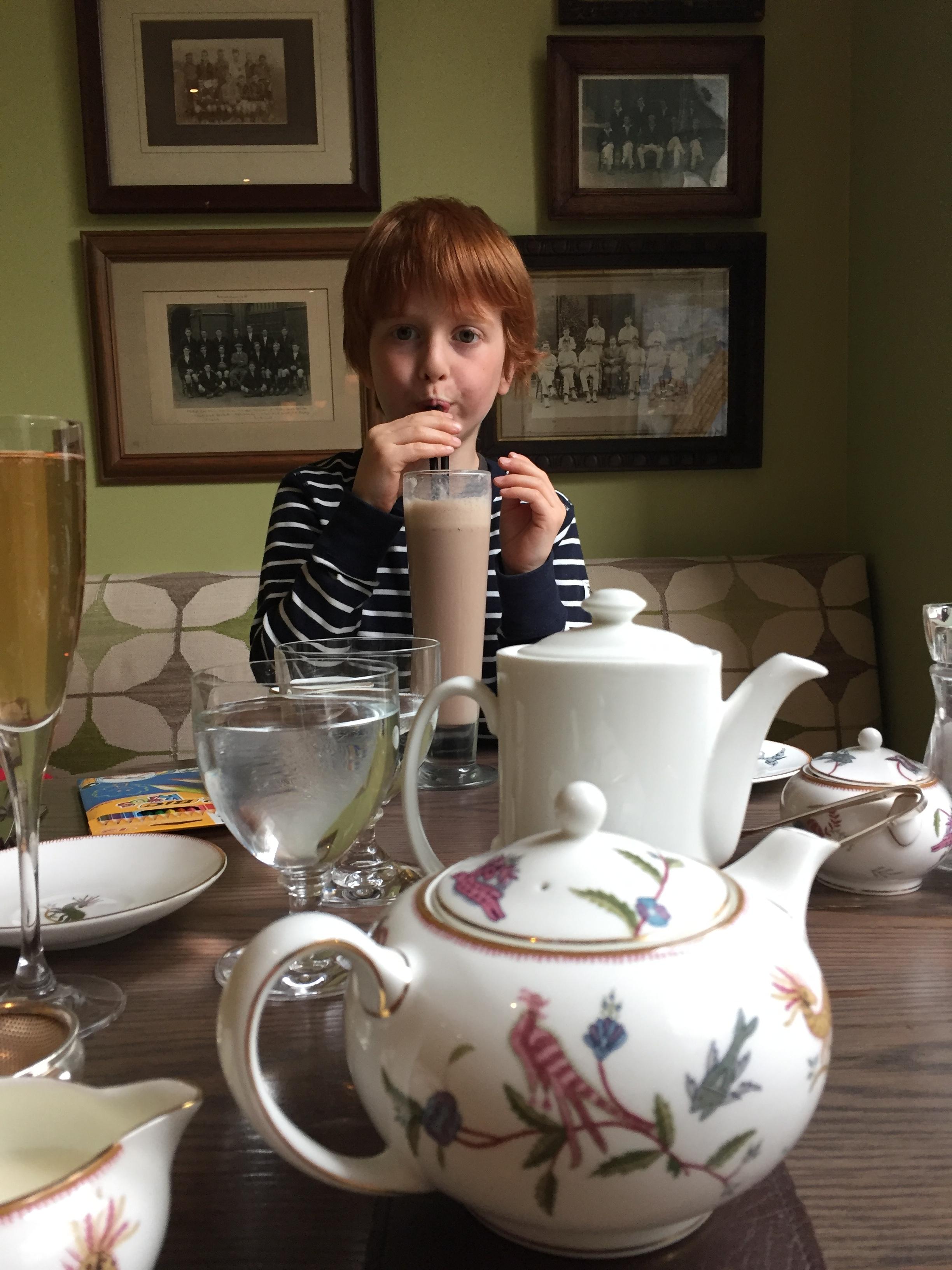 Oscar and the Giant Milkshake