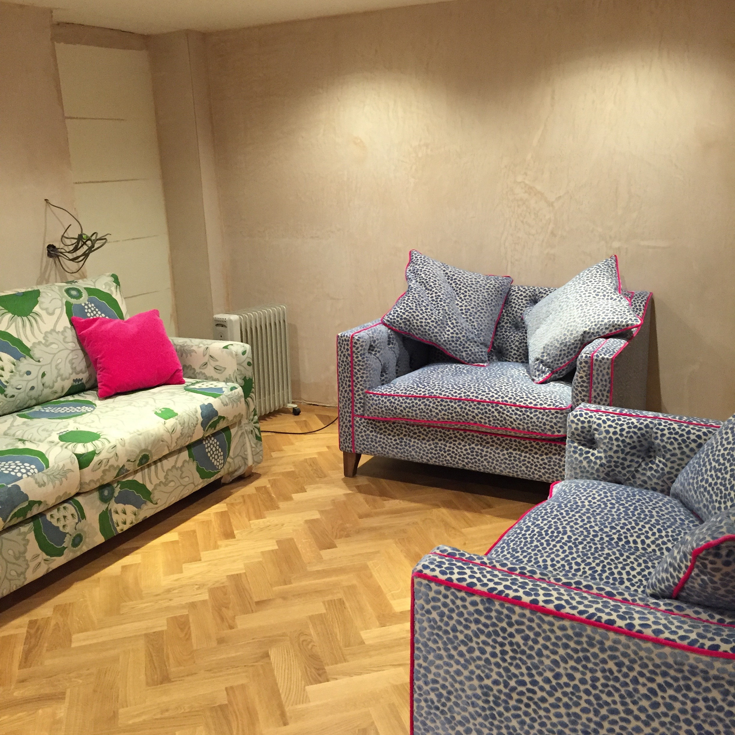 Floor: tick! Soft furnishings: tick! Heating and electricity? Not so much