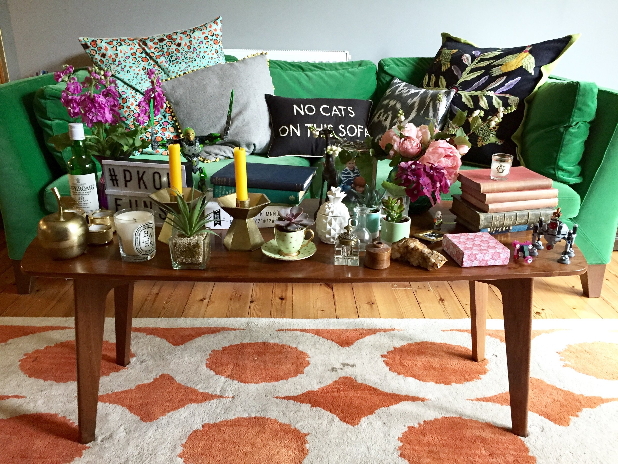 The styling prop table
