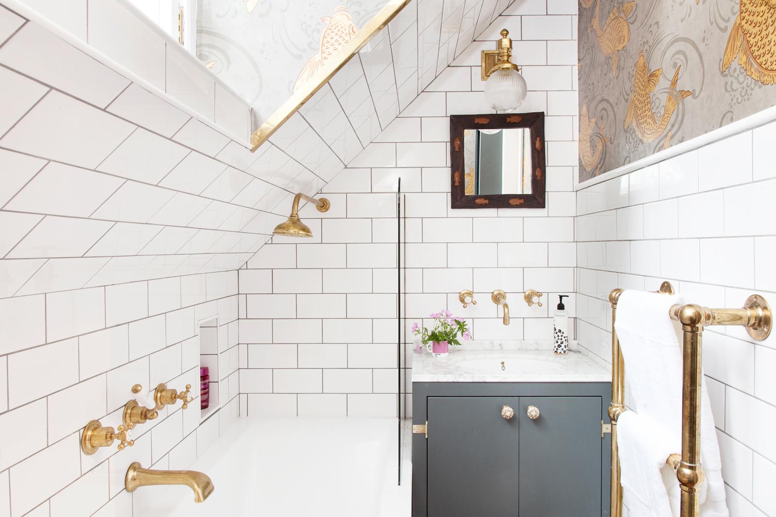 My bathroom looks nothing like this in real life/Photo: Susie Lowe