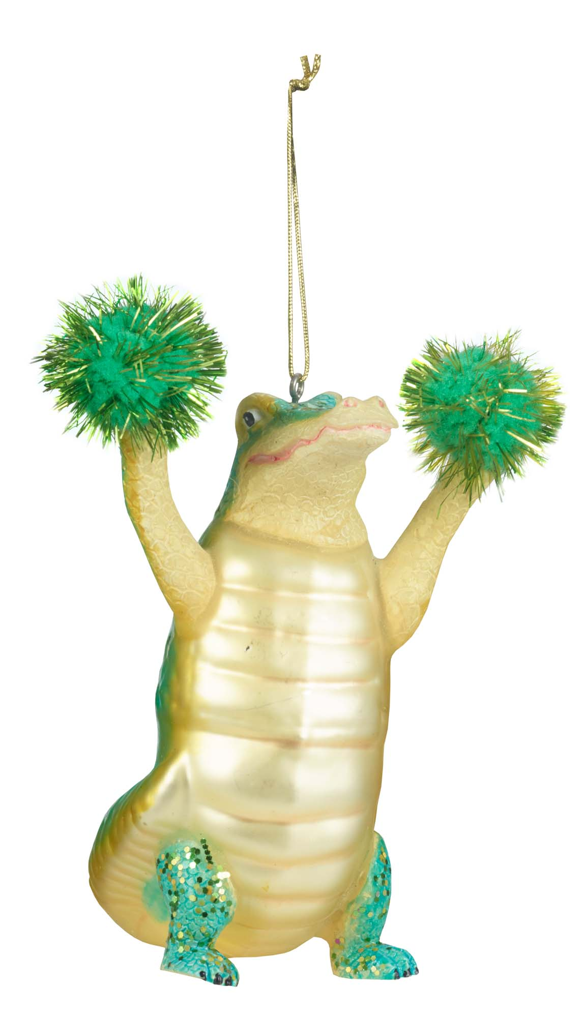 Paperchase's cheerleading alligator