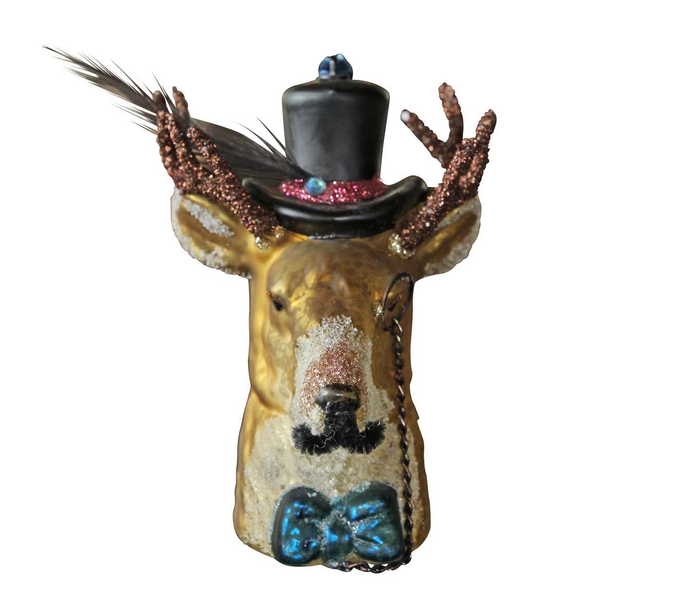 Rockett St George's gentleman deer decoration