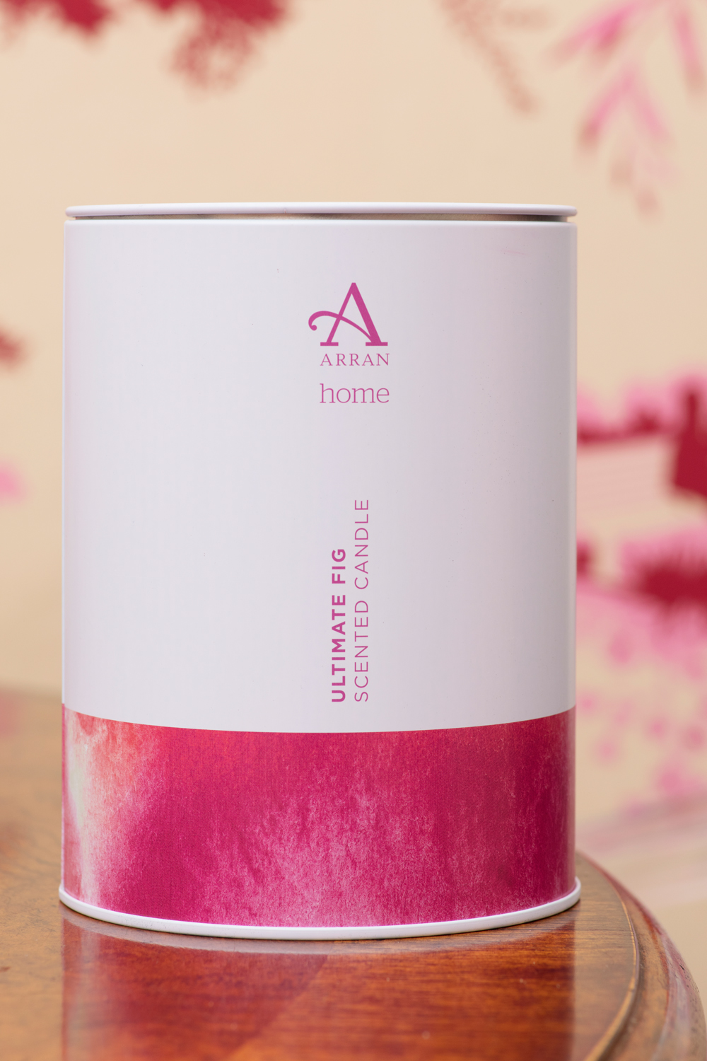 Arran candle in The Pink House/Photo: Susie Lowe