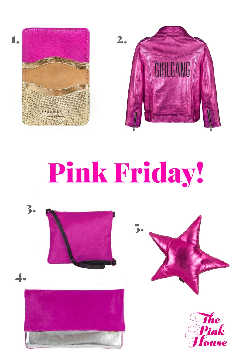 Pink Friday Black Friday 30% off Sarah Baily