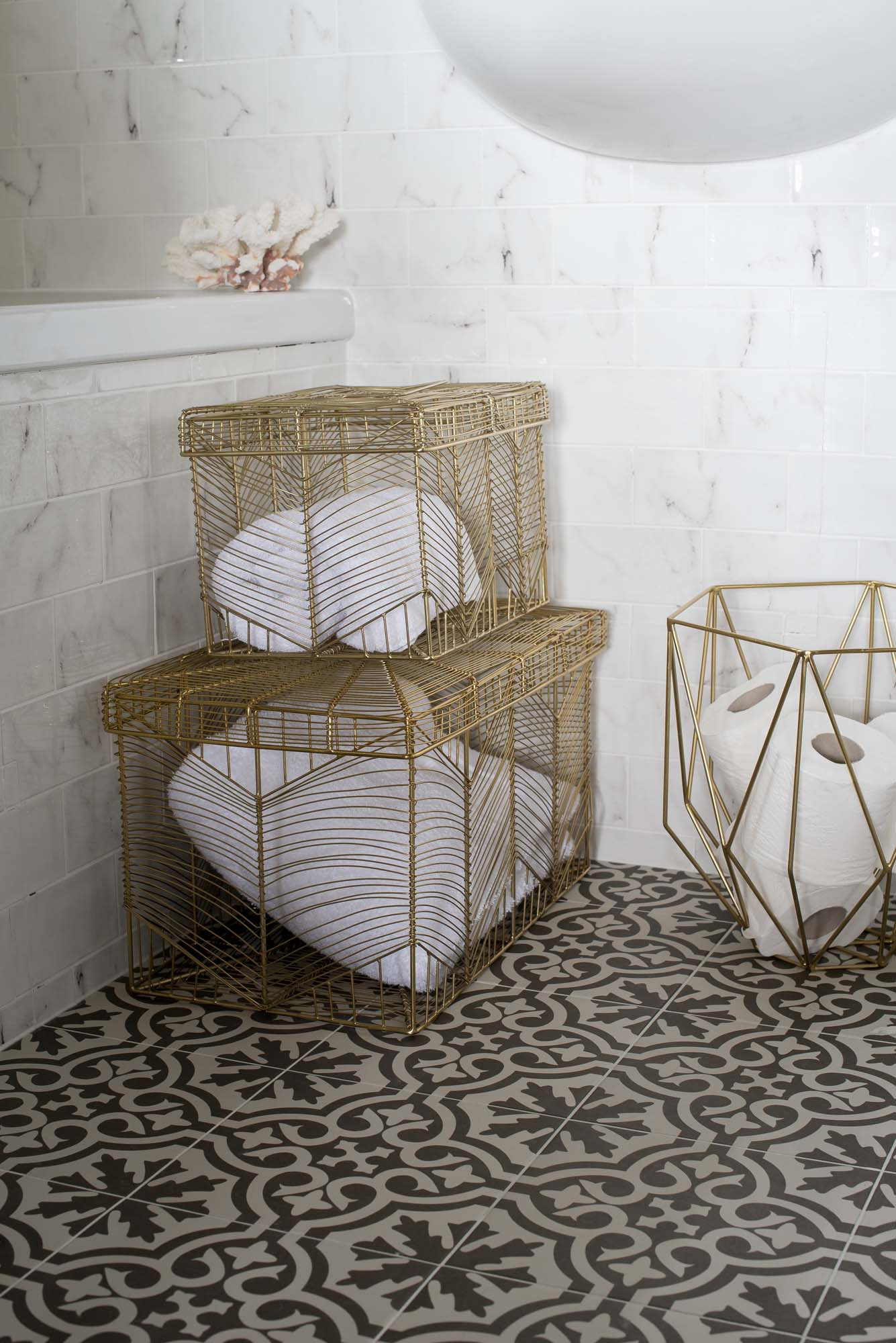 Kelly Hoppen storage baskets
