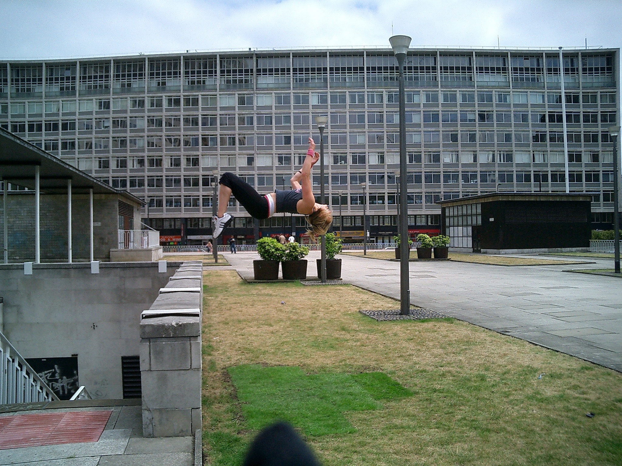 Me and my parkour flats
