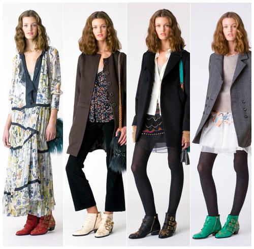 The original 2008 green Chloe Susan boots