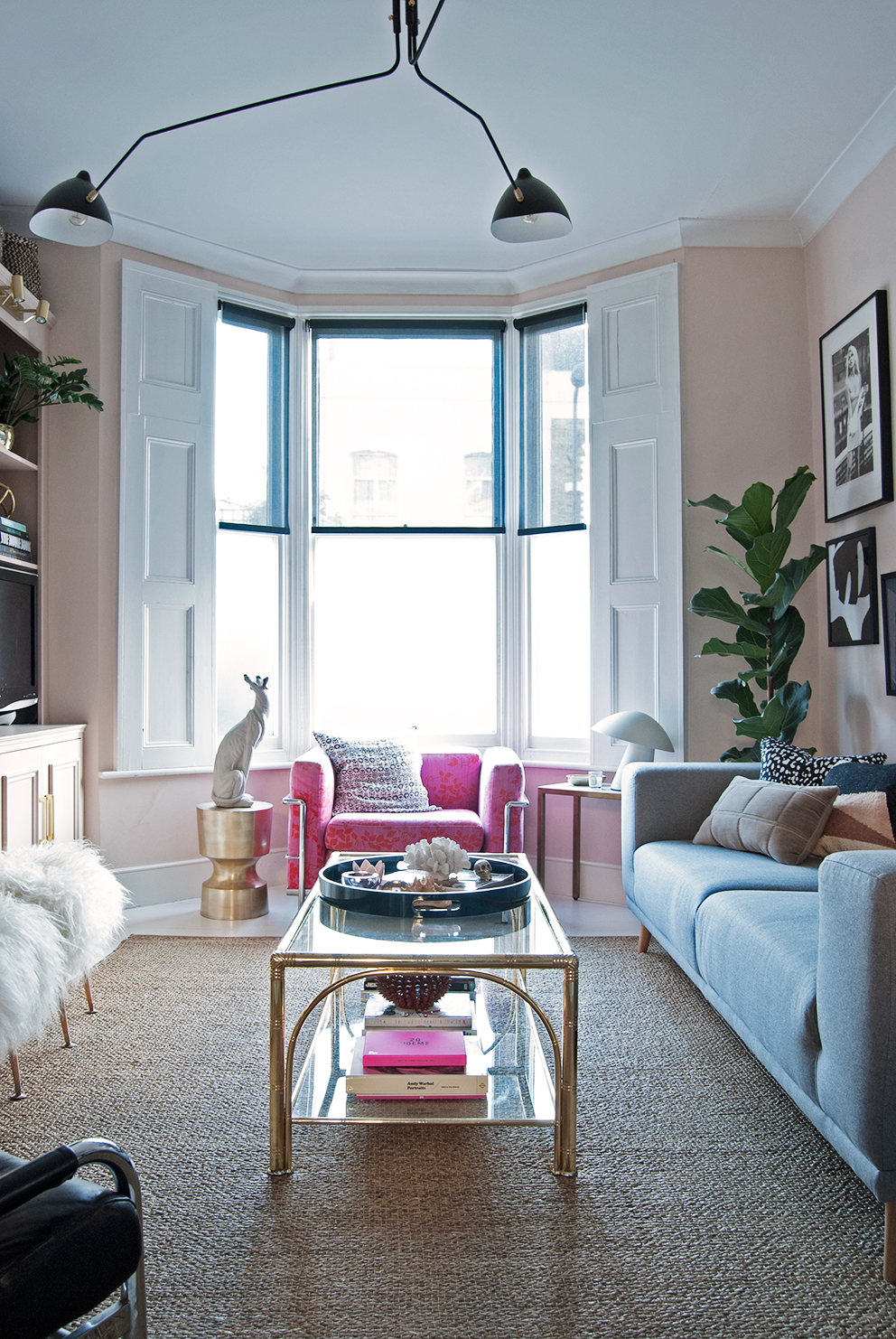 Bianca's living room/Photo: French for Pineapple