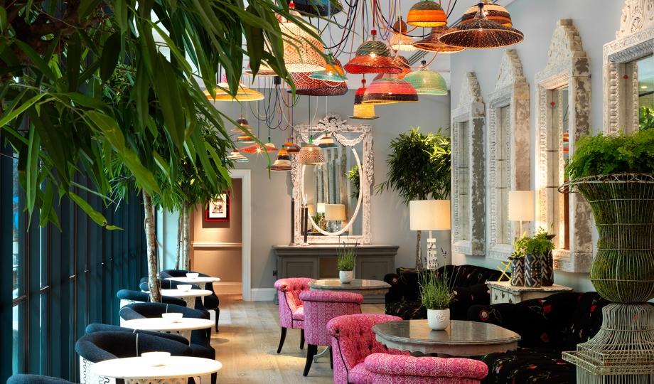 Ham Yard Hotel restaurant, Soho