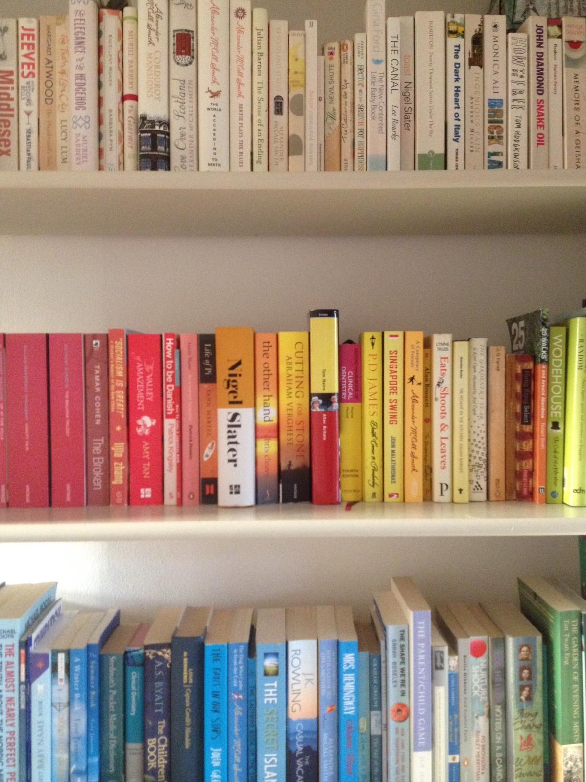 Mimi's bookshelf