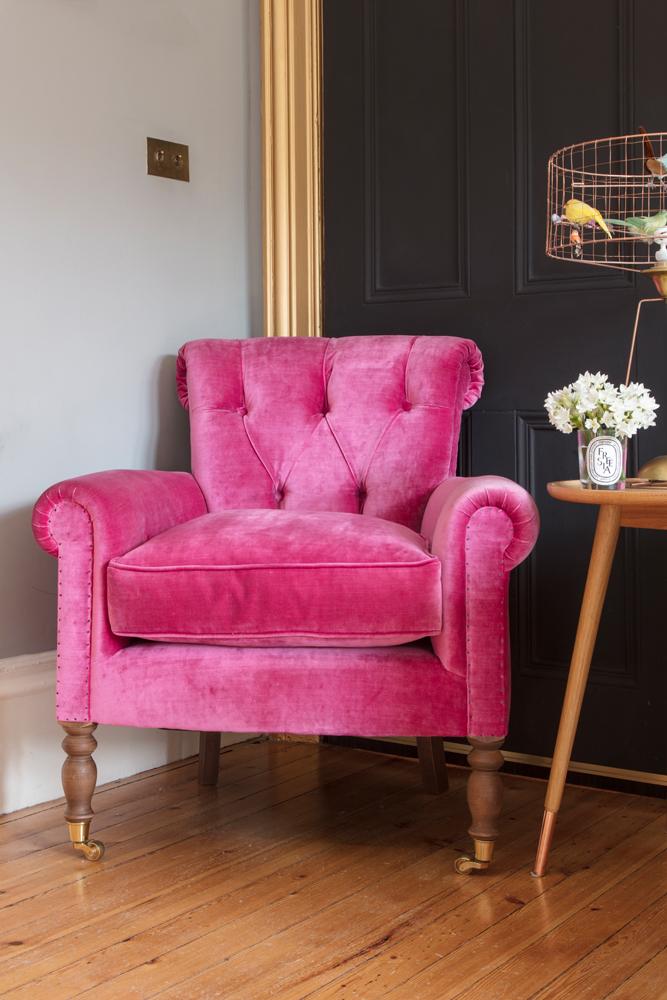 WIN this practically-edible Sofas & Stuff velvet armchair worth £1442/Photo:Susie Lowe