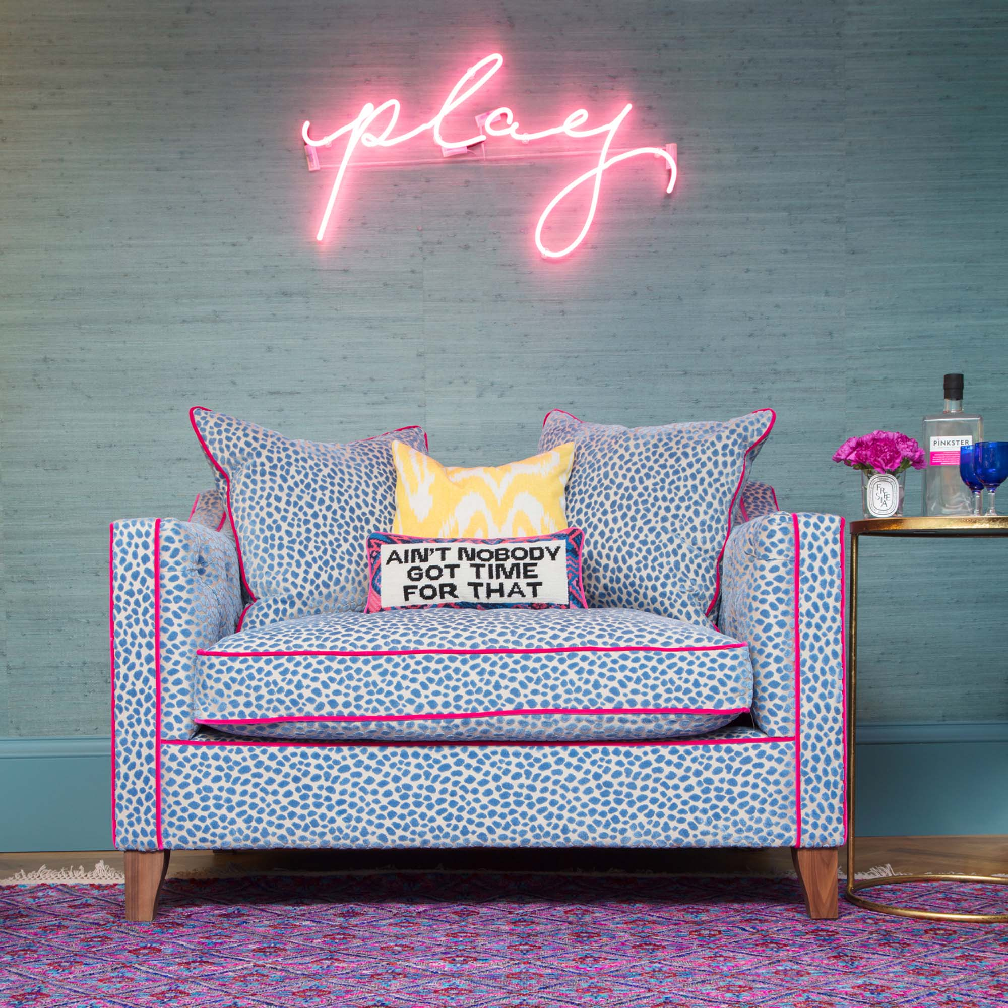 I gotta whole lotta time for my Sofas & Stuff snuggler/Photo: Susie Lowe