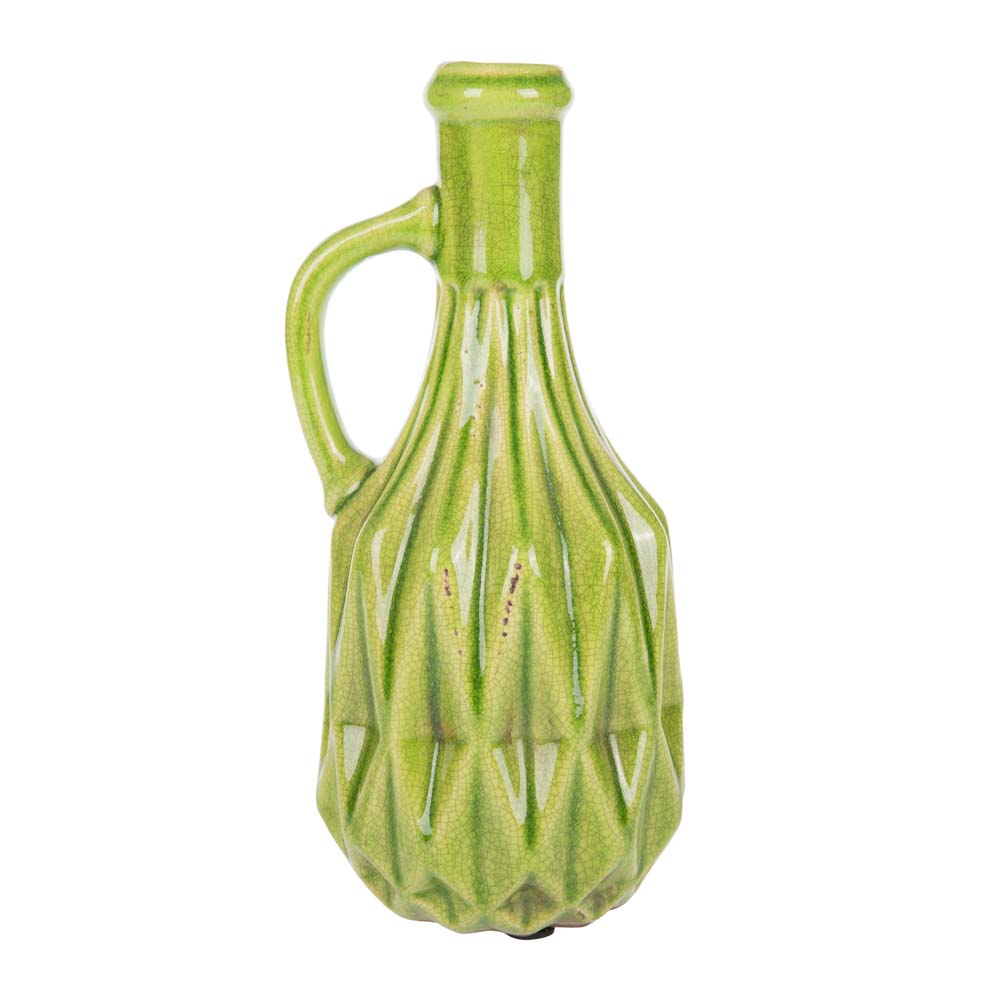 A by Amara peony vase with handle