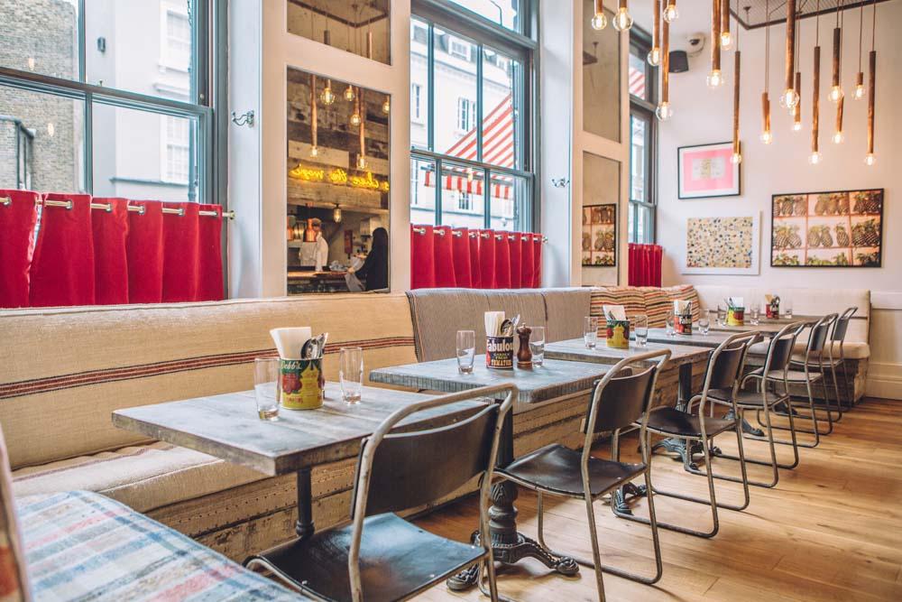 Cambridge Street Kitchen cool London restaurant