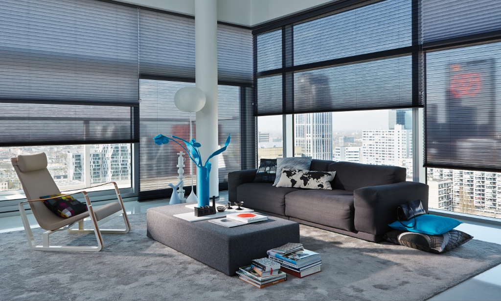 Luxaflex Duette blinds keeping thing cool in the city
