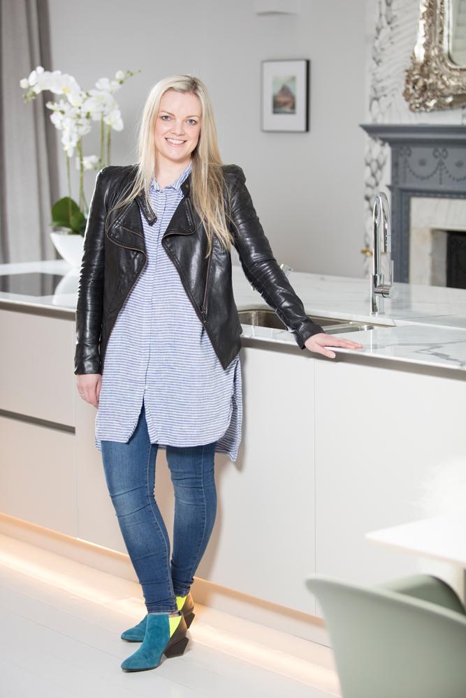 Anna in her kitchen/Photo: Susie Lowe